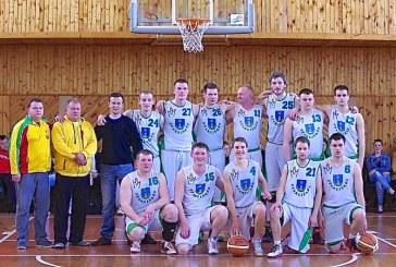 """""""Stakliškių"""" krepšininkams – Mažų miestelių krepšinio lygos bronza"""