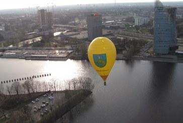 """Žydrūnas Kazlauskas – oro balionų varžybų """"Riga vision 2013"""" nugalėtojas"""