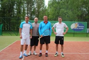 Prienų tenisininkai T&M taurės turnyre profesionalų grupėje – treti