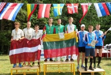 Lietuvos orientacininkai – Baltijos šalių čempionato nugalėtojai