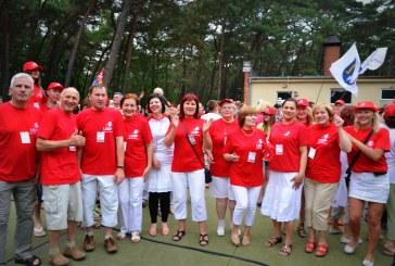 Foto. Birštono socialdemokratai LSDP sąskrydyje (Birštono skyriaus nuotraukos)