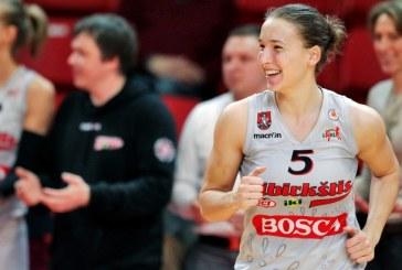 Mantė Kvederavičiūtė atstovaus Lietuvai Europos čempionate