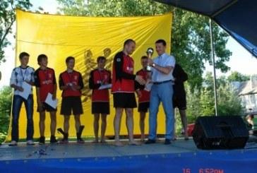 Linksmakalnio futbolo turnyre Jiezno komandai – sidabro apdovanojimai