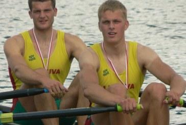 Rolandas Maščinskas ir Saulius Ritter Europos čempionate – antri