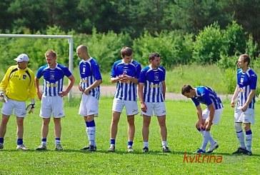 """Birštono """"SC-Erno"""" futbolininkai pagaliau laimėjo"""
