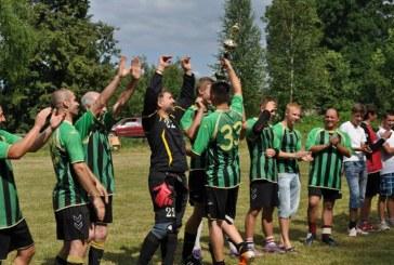 Kašonyse Mindauginės buvo pažymėtos futbolu