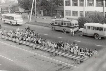 Laikas, kada mes buvome labai dideli, ir mūsų buvo daug…                                                 Birštono žmonės Baltijos kelyje 1989 m. rugpjūčio 23 d.