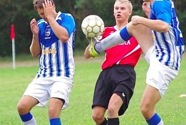 """Birštono """"SC-Ernas"""" futbolininkai nutraukė pralaimėjimų seriją"""