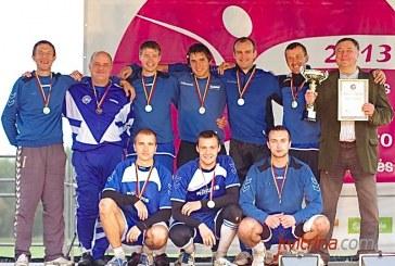 Prienų miesto seniūnijos futbolininkai – žaidynių čempionai