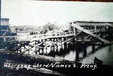 Prienų tiltas Pirmajame pasauliniame kare