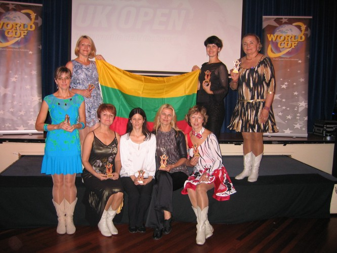 Europos linijinių šokių čempionatas Jungtinėje Karalystėje ,Blackpool mieste š.m.rugsėjo 27-29d.