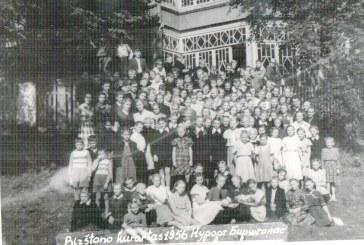 Birštono gimnazijos istorijos puslapiai A. Kabašinsko viloje