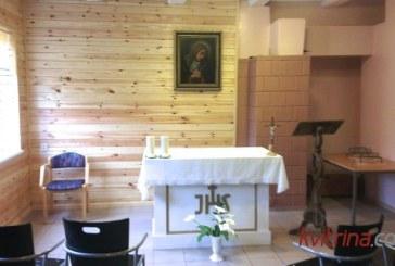 Balbieriškio bendruomenė padovanojo sau koplyčią