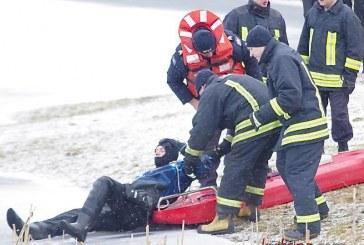 Ugniagesių-gelbėtojų pratybos – šansas išgelbėti žmogų
