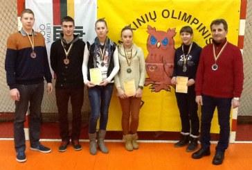 Sėkmingi rajono badmintonininkų startai Mokinių olimpiniame festivalyje