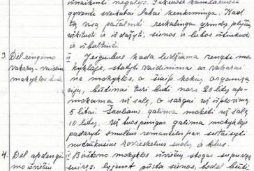 Iš Birštono muziejaus fondų. Pirmajam Birštono valstiečiui – vežėjui Adomui Jurkulnevičiui (1875-1942) atminti (III). Autoritetas – Birštono pradžios mokyklos tėvų komitete