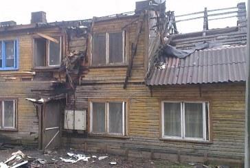 Janonio gatvėje degusio namo gaisro priežastis turės nustatyti ikiteisminis tyrimas