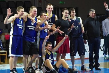 Seniūnijų krepšinio finalą dramatiškoje kovoje laimėjo N. Ūtos krepšininkai