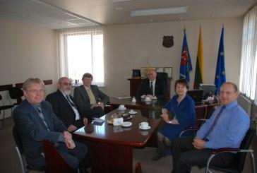Prienų rajono savivaldybėje lankėsi Lietuvos Respublikos Seimo nariai