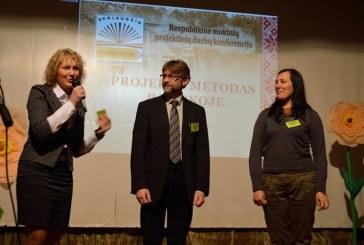 """Skriaudžiuose vyko penktoji respublikinė mokinių konferencija """"Projekto metodas pamokoje"""""""