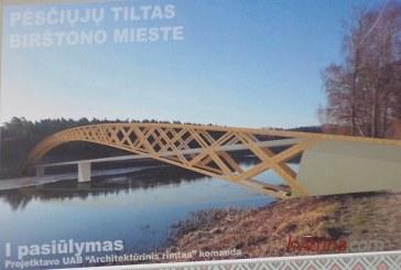 Birštonas kryžkelėje: pėsčiųjų tiltas ar gondolos?
