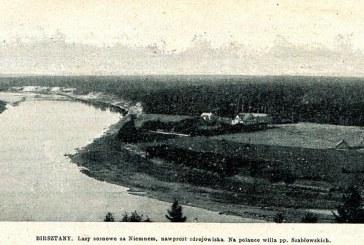 Su meile – apie Birštoną 1900-aisiais…(2)