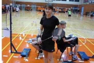 Lietuvos U-17 badmintono čempionate Gerda Trakymaitė – šešta
