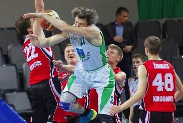 Stakliškių krepšininkai užtikrintai žaidė ketvirtajame kėlinyje ir užsitikrino vietą LMMKL finale