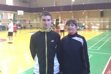 Sėkmingas badmintonininkų žaidimas 9-osios Lietuvos taurės IV etapo varžybose