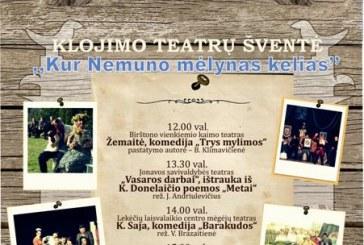 Teatrų šventei artėjant