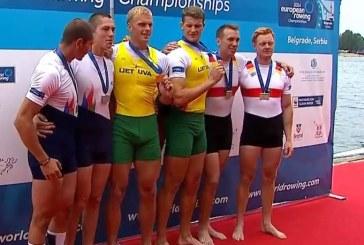 Rolandas Maščinskas – Europos čempionas, broliai Lapatiukai – aštunti