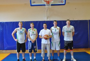 Socialdemokratinio jaunimo sąskrydyje prieniečiai dominavo krepšinio aikštelėje
