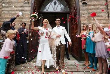 Po 15 metų draugystės Birštone susituokė garsi šokėjų pora Donatas Vėželis ir Lina Chatkevičiūtė