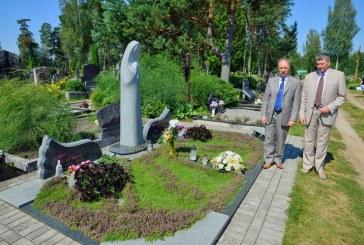 Savivaldybės atstovai pagerbė ilgamečio Birštono savivaldybės mero dr. A. S. Zenkevičiaus atminimą