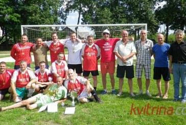 "Jiezno seniūnijos taurė – ""Veteranų"" futbolo komandai"
