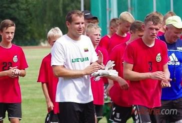 Birštone – Lietuvos U-16 futbolo rinktinės stovykla
