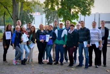 Prienų jaunimiečiai dalyvavo LSDJS skyrių petankės dvejetų turnyre Birštone