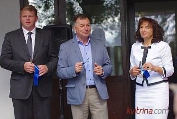 """Atnaujinta """"Revuonos"""" pagrindinė mokykla pasitiko rugsėjo 1-ąją"""