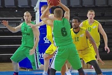 """""""Prienų"""" komanda turnyrą savo arenoje baigė triuškinančiu  pralaimėjimu"""