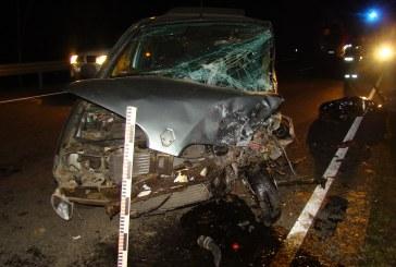Avarijoje ties Verbyliškių sankryža žuvo Birštono savivaldybės gyventojas