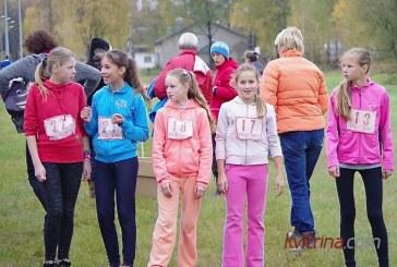 Kroso varžybose nugalėtojais tapo keturių mokyklų atstovai