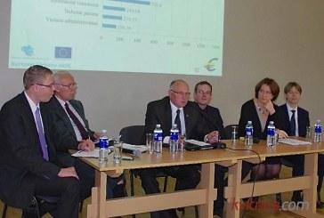 Prienuose diskutuota apie euro įvedimą ir ES investicijas