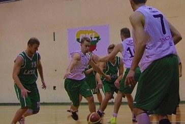 """""""Stakliškių"""" krepšininkai kovojo kaip liūtai, bet nesugebėjo įkąsti """"Sūduviui"""""""