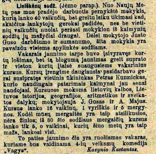 """""""TĖVYNĖS SARGAS"""".1918,KOVO 23,NR.11,P.8 redag"""