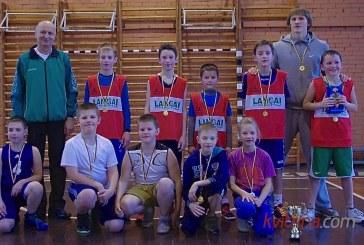 Kalėdinį vaikų krepšinio turnyrą Birštone laimėjo šeimininkai