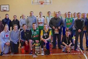 Kalėdinio krepšinio turnyro Išlauže taurė – krepšininkams iš Garliavos