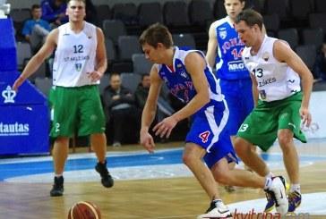 """""""Stakliškių"""" krepšininkai ketvirtajame kėlinyje susitvarkė su jonaviškiais"""