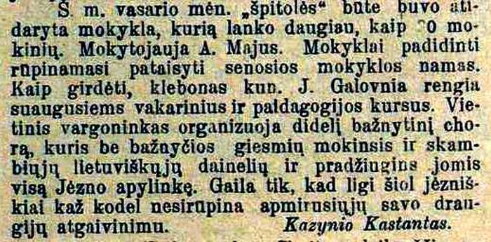 TĖVYNĖS SARGAS.1918 ,BALANDŽIO MĖN 23D.nr.13,p.9 redag.