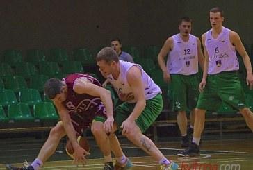 """""""Stakliškių"""" krepšininkai du kartus grįžo į žaidimą, bet įveikti """"Ignalinos"""" nesugebėjo"""