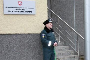 Birštono policijos ataskaita bendruomenei
